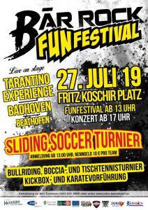 FUNFESTIVAL/Bärrock 2019 @ Schaufelradbagger Bärnbach | Fritz Koschir Platz | Hochtregist | Steiermark | Österreich